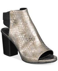 Kenneth Cole Reaction Women's Frida Fly 2 Perforated Sandals Women's Shoes Pewter