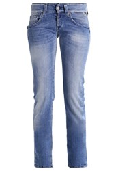 Replay Newswenfani Straight Leg Jeans Blue Denim