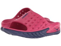 Hoka One One Ora Recovery Slide Love Potion Blue Ribbon Running Shoes Pink