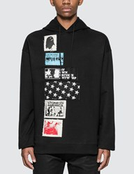 Raf Simons Hoodie With Patches Black
