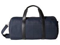 Jack Spade Quilted Tech Nylon Duffel Navy