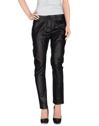 Siviglia White Denim Denim Trousers Women Black