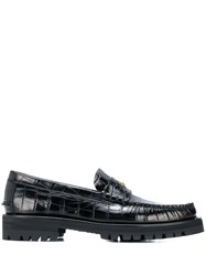 Versace Medusa Loafers Black