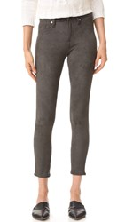 7 For All Mankind Knee Seam Skinny Pants Olive