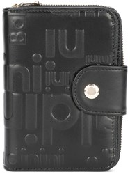 Baldinini Zip Around Logo Wallet Black