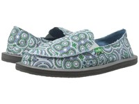 Sanuk Donna Cement Multi Radio Love Women's Slip On Shoes