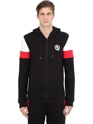 Dirk Bikkembergs Hooded Cotton Sweatshirt