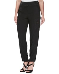 Jason Wu Satin Backed Crepe Cargo Pants Women's