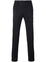 Fendi Straight Leg Trousers Blue