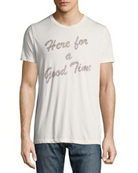 Sol Angeles Here For A Good Time Graphic T Shirt White