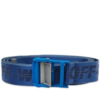 Off White Industrial Belt Blue