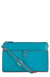 Lodis 'Audrey Collection Vicky' Convertible Crossbody Bag Blue Green Turquoise Coral