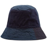Engineered Garments Mix Bucket Hat Blue