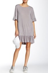 Zoa Flare 3 4 Sleeve Tunic Gray