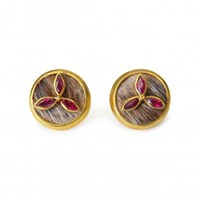 Isabel Englebert Oliver Ruby 18K Gold Cufflinks