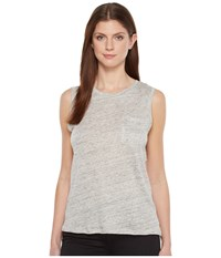 Blank Nyc Sleeveless Tank Top In Embrace The Gray Embrace The Gray