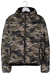 Redskins Cody Winter Jacket Black Camouflage