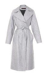 Martin Grant Waterproof Trench Coat Light Grey