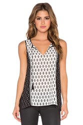 Sanctuary Meadow Tunic Black And White