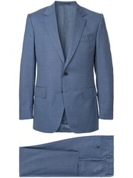 Gieves And Hawkes Two Piece Formal Suit Blue