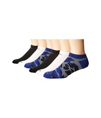 Nike Dri Fit Cushion No Show 6 Pair Multicolor 1 Men's Low Cut Socks Shoes Black