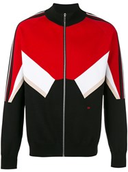 Christian Dior Homme Chevron Sports Jacket Men Cotton Polyamide Polyester Spandex Elastane L Red