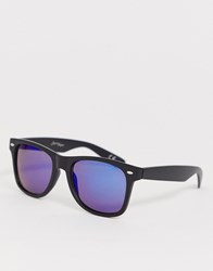 Jeepers Peepers Matt Square Plastic Frame Black