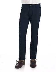 Calvin Klein Slim Fit Stretch Pants Officer Navy