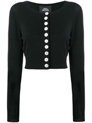 Marc Jacobs Cropped Cardigan Black