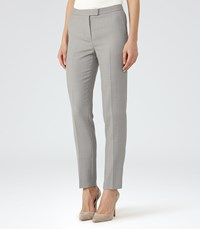 Reiss Kent Trouser Womens Tailored Trousers In Grey