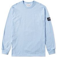 Mki Miyuki Zoku Long Sleeve Arm Badge Tee Blue
