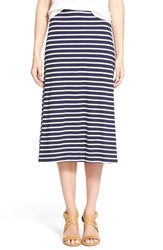 Women's Eileen Fisher Organic Cotton A Line Skirt Midnight