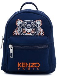 Kenzo Small Tiger Backpack Blue