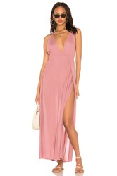 Indah River Maxi Dress Mauve