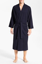 Men's Nordstrom Thermal Robe Navy