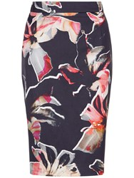 Fenn Wright Manson Lily Print Horizon Skirt Multi