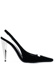 Tom Ford Logo Plaque Pumps Black