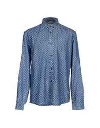 Suit Denim Shirts Blue