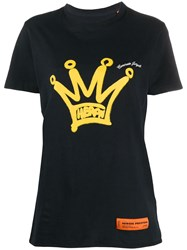 Heron Preston Crown Print Crew Neck T Shirt 60