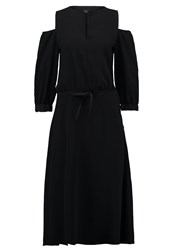 Marella Cipolla Maxi Dress Black