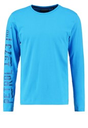 Petrol Industries Long Sleeved Top Dark Aqua Blue