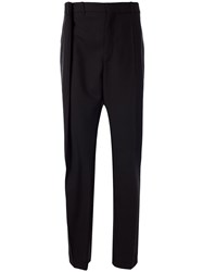 Y Project Straight Leg Tucked Detail Trousers 60