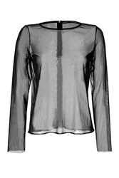 Anthony Vaccarello Mesh Top