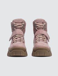 Msgm Chuckie Bootie Strap Sneakers