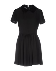 Jeremy Scott Short Dresses Black