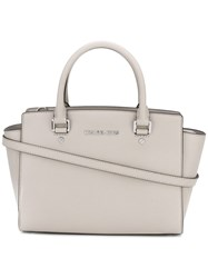 Michael Michael Kors Top Zip Tote Bag Nude Neutrals