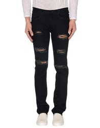 M.Grifoni Denim Denim Denim Trousers Men Dark Blue