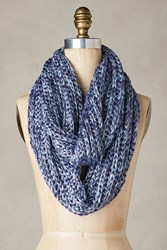 Anthropologie Ashland Infinity Scarf Blue