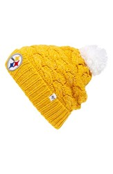 Junior Women's 47 Brand 'Pittsburgh Steelers' Pom Beanie