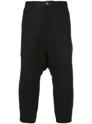 Private Stock Drop Crotch Trousers Wool Black